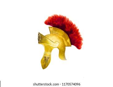 helmet rome on a white background