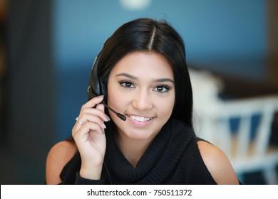 help center, support team, customer service, amazing girl latin spanish american