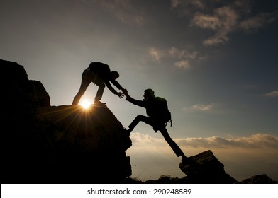 help climbing mountain