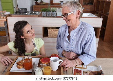 Help at home with elderly