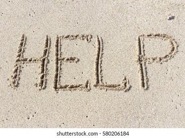 Help me the inscription on the sand. Please help me. On a tropical beach.