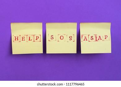 Help me, sos, asap Note.