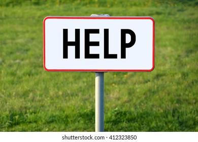 Help signpost