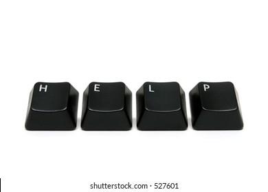 help - single keys from keyboard, macro over white