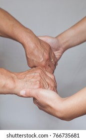 Helping hand for grandmother