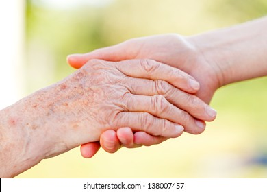 The helping hands for elderly home care