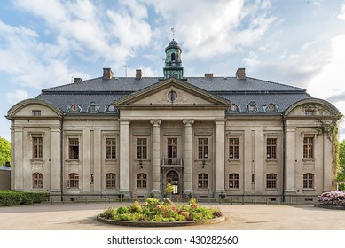 HELSINGBORG, SWEDEN - MAY 28, 2016: Orenas Castle is one of the oldest and most impressive manor buildings in Scania.