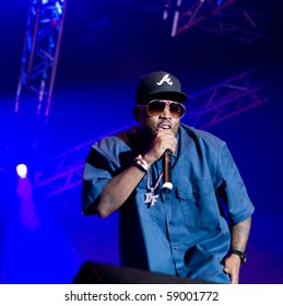 HELSINKI, FINLAND - AUGUST 13: American rapper, song-writer, record producer and actor Big Boi live on stage at Flow 2010 Festival on August 13, 2010 in Helsinki, Finland