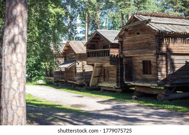 Helsinki, Finland – Jule 10, 2020:Seurasaari is an island and a district in Helsinki, Finland, known mostly as the location of the Seurasaari Open-Air Museum