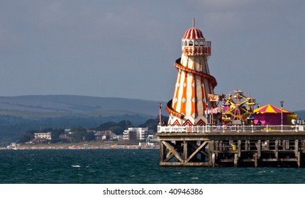 Helter Skelter on the end of Bournemouth pier