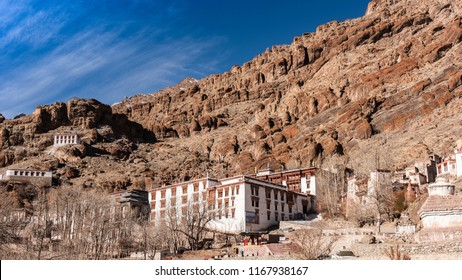 Hemis Monastery, situated in the Indian state of Jammu and Kashmir in the Ladakh region. The Monastery (Gompa) is very near to Let city which is 45 km from this place.