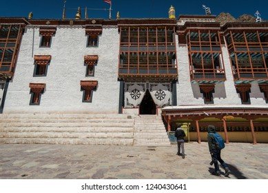 Hemis temple monastery  in Leh-Ladakh , India