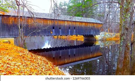 Hemlock Covered Bridge Fryeburg Maine