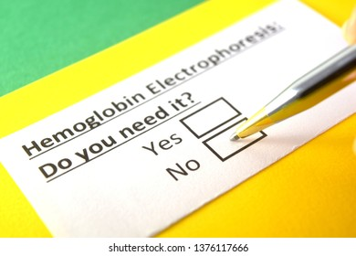 Hemoglobin Electrophoresis: Do you need it? yes or no