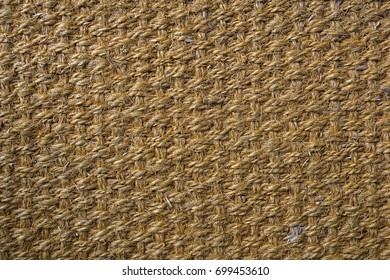 Hemp carpet, Sisal background sisal texture