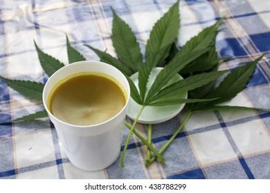 Hemp naturally homemade salve or ointment