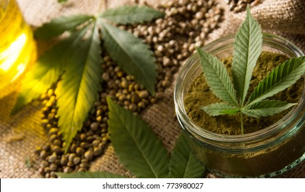 Hemp products and leaf