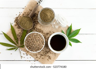 hemp products, seeds, oil and flour