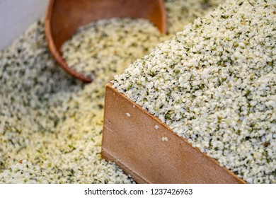 Hemp seeds, a super food for health that contains a lot of nutritions and very famous among paleo and keto diets.