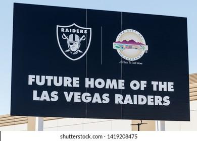 Henderson - Circa June 2019: Raiders new practice facility. The Raiders begin play in Las Vegas in 2020 I