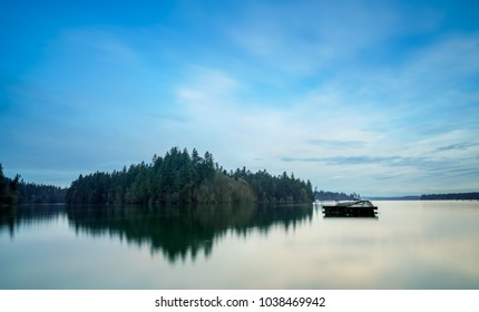 Henderson Inlet, Puget Sound, Olympia, Washington, USA