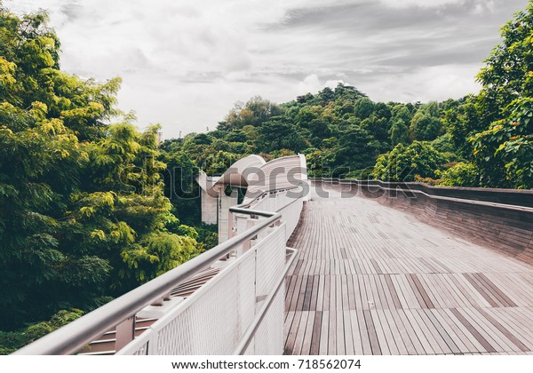 Henderson Waves Bridge On Mount Faber Stock Photo (Edit Now
