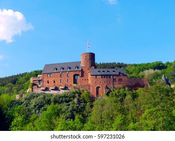 Hengebach castle in Heimbach