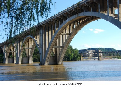 Henley Bridge over the Tennessee River Knoxville