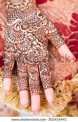 Henna India Stock Photo Edit Now 302456441 Shutterstock