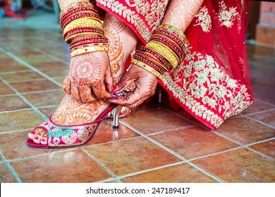 Henna mehndi wedding design