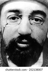 Henri Toulouse-Lautrec in a portrait made at the height of the artist's fame in the closing years of the 19th Century.