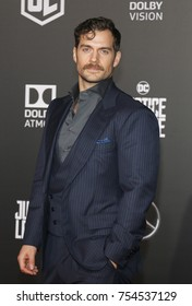 Henry Cavill at the World premiere of 'Justice League' held at the Dolby Theatre in Hollywood, USA on November 13, 2017.
