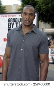 """Henry Simmons at the Los Angeles premiere of """"Dodgeball"""" held at the Mann Village Theater in Westwood, California, United States on June 14, 2004."""
