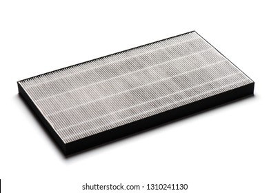 HEPA filter for air purifier. HEPA is High efficiency particulate air filter.
