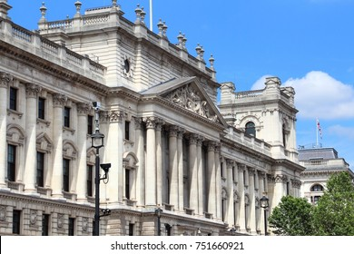 Her Majesty's Revenue and Customs (HMRC) - UK government tax office in London.
