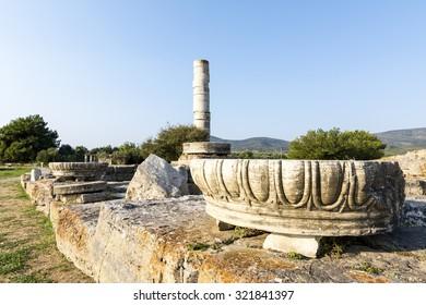 Heraion Ancient City, Samos Island
