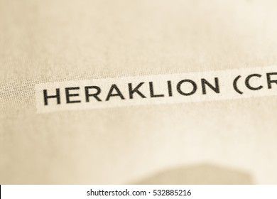 Heraklion. Greece