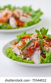 herb salad ( Thai food)