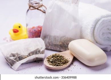 Herbal bath for baby