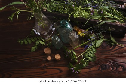 herbal ingredients for a wiccan spell