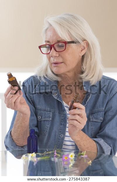 Herbal Medicine , woman