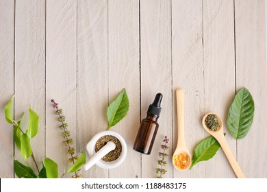 herbal organic medicine product. natural herb essential from nature.