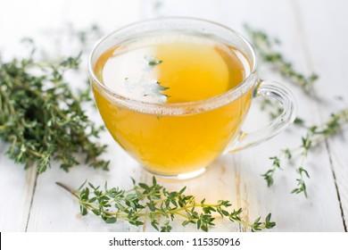 Herbal tea. Thyme