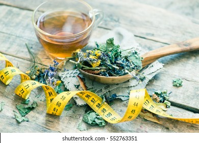 Herbal tea/toned photo