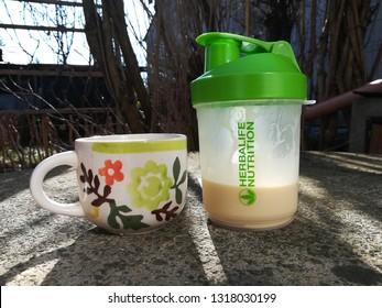 herbalife shake delicious breakfast