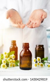 Herbalist prefers aromatherapy oils, natural medicine