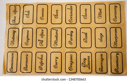 Spice Sticker Stock Photos, Images & Photography | Shutterstock