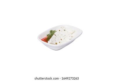 Herby cheese / otlu cheese. Turkish herby cheese