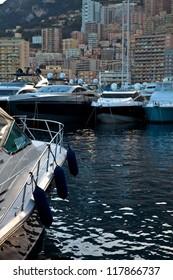 Hercules Port in La Condamine, Principality of Monaco, Europe
