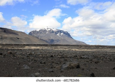 Herdubreid Mountain, Iceland